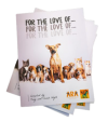 """Livro """"For The Love Of...""""  -  €10"""
